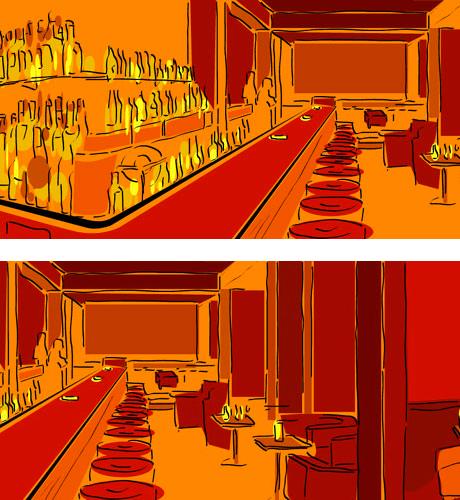 Ambientazioni Bar Disegni ~ home design, ispirazione interni e mobili
